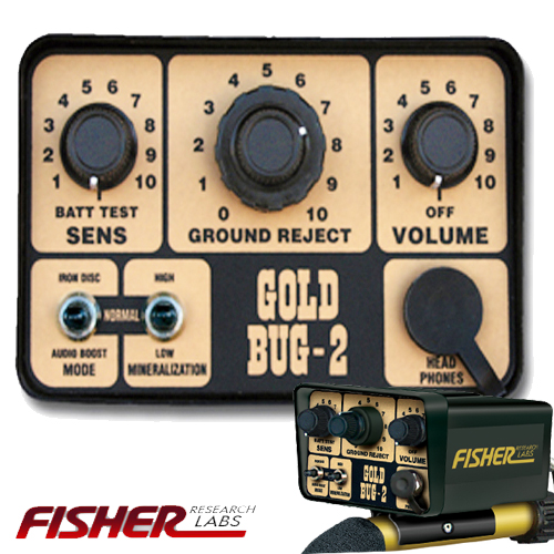 control box Fisher Gold Bug 2